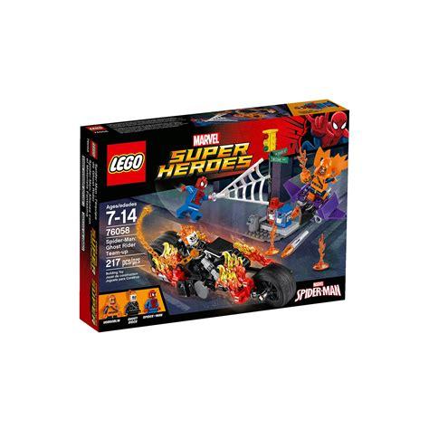 Lego Marvel Heroes 76058 Spidermanghost Rider Team Up Set lego 76058 marvel heroes spider ghost rider team up at hobby warehouse