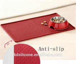 feeding mat for pet bowls food mat for cat or silicone