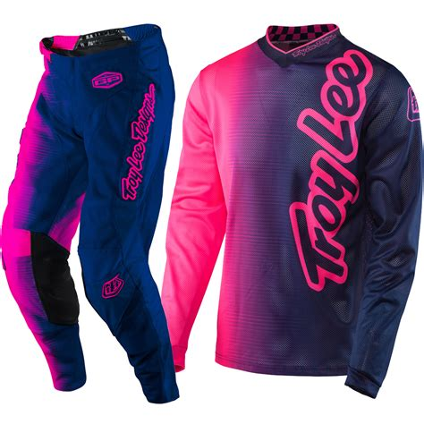 troy designs motocross gear troy designs 2017 mx gp air 50 50 flo pink navy