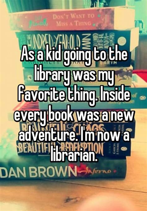 15 confessions about working at a library