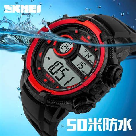 Jam Tangan Y43 High Quality skmei jam tangan digital pria dg1113 black blue