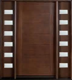 modern wood door modern custom front entry doors custom wood doors from doors for builders inc solid wood