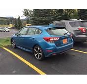 Spied In The Wild 2017 Subaru Impreza Hatchback