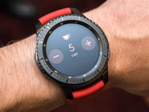 Smartwatch Samsung Gear 3 samsung gear s3 smartwatch review design functionality page 3 of 3 ablogtowatch