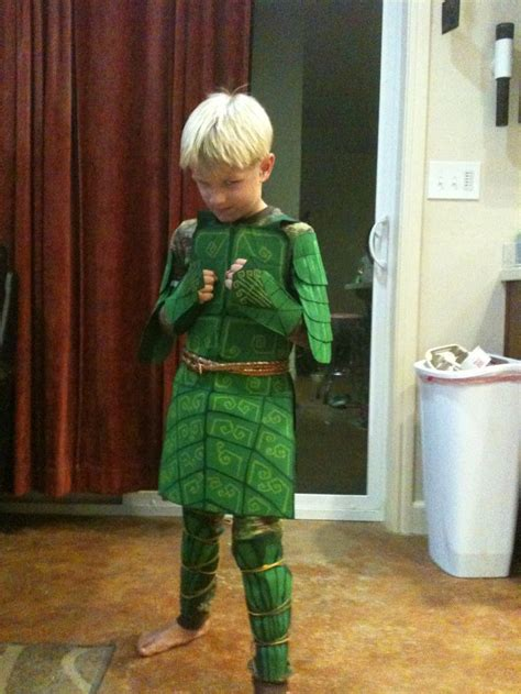 Epic Film Costumes | leaf man costume from the movie epic i used green felt
