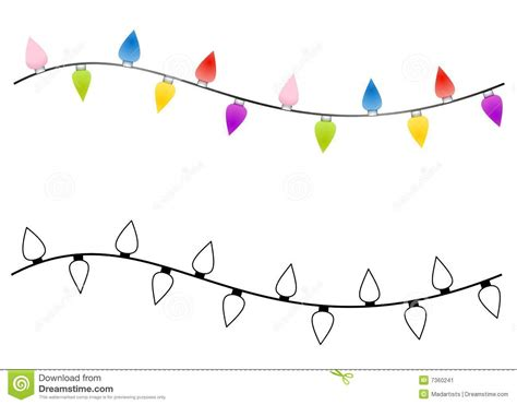 outline christmas lights string of lights black and white clipart clipart suggest