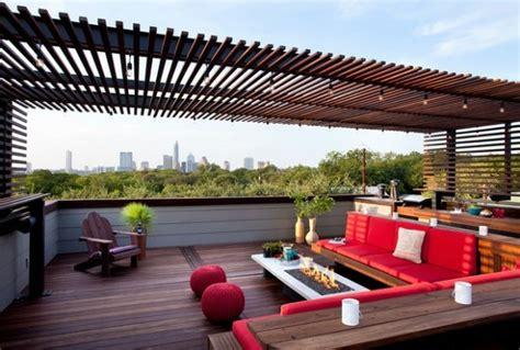 rooftop patio design 20 id 233 es pour la pergola design sur le toit