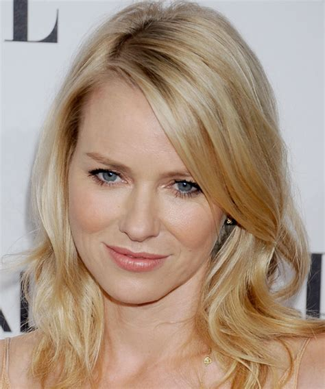 best medium length blonde style for fair warm skin tone but heavy body shape naomi watts hairstyles in 2018