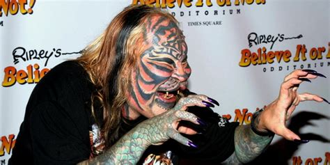 cat man tattoo died extreme body modifier catman dead at 54 suicide likely