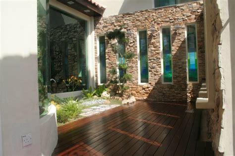 patio interior decorado patio interior cincuenta ideas modernas para decorarlo