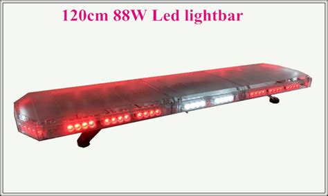 Led Safety Light Bars High Intensity 120cm 88w Led Emergency Lightbar Strobe Lightbar Ambulance Traffic