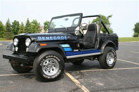 Jeep Renegade Cj7 Find New 1984 Jeep Cj7 Renegade Fuel Injected And Rust