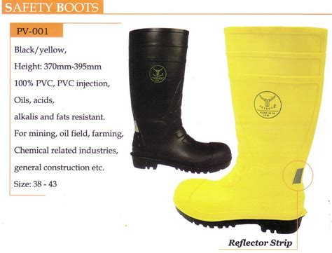 Safety Boot Petrova Yellow
