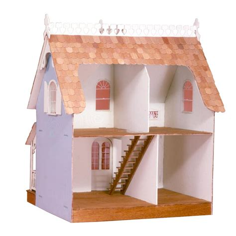 tall doll houses skarla s variety shop deals 2 story cute dollhouse kit diy new 23 5 quot tall