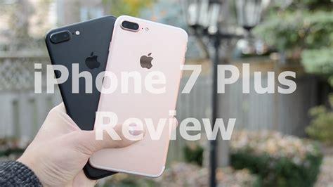 iphone 7 plus review matte black gold