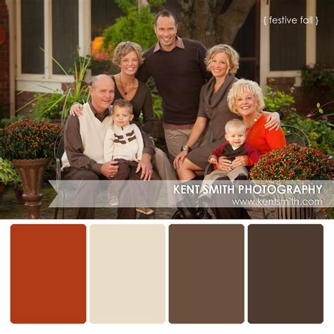 vivid fall family portrait color schemes ideas 15 best clothing ideas for family portraits images on