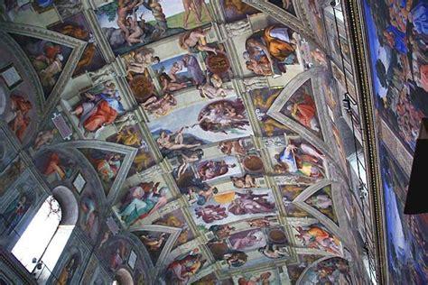 decke der sixtinischen kapelle bildergalerie europa mit bildern und kurztexten aus europa
