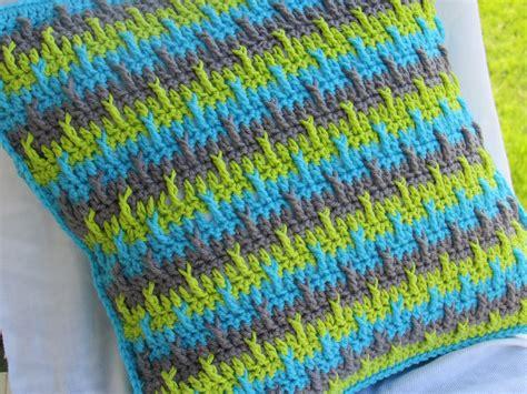crochet dreamz textured throw pillow cover crochet