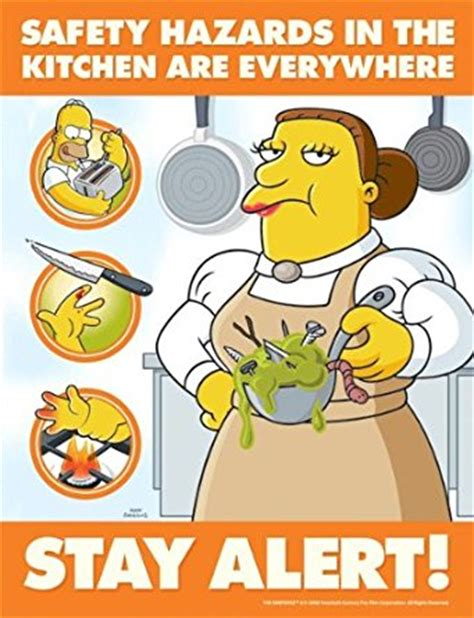 Room Design Tools Online Free simpsons food safety poster safety hazards in the