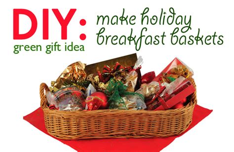 latest new gift baskets for christmas diy gift idea breakfast basket inhabitat green design innovation architecture