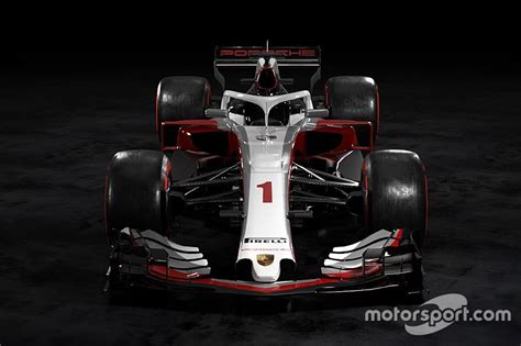 Porsche Formel 1 by What Would A Porsche F1 Car Look Like