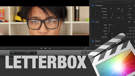 final cut pro letterbox letterbox widescreen effect on final cut pro x tutorial