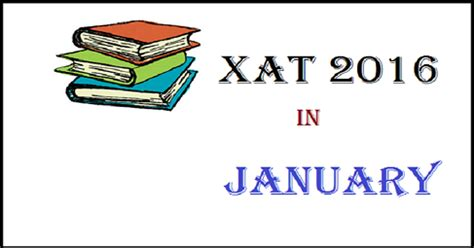 xat pattern of exam xat 2016 exam date announced to be held on january 3
