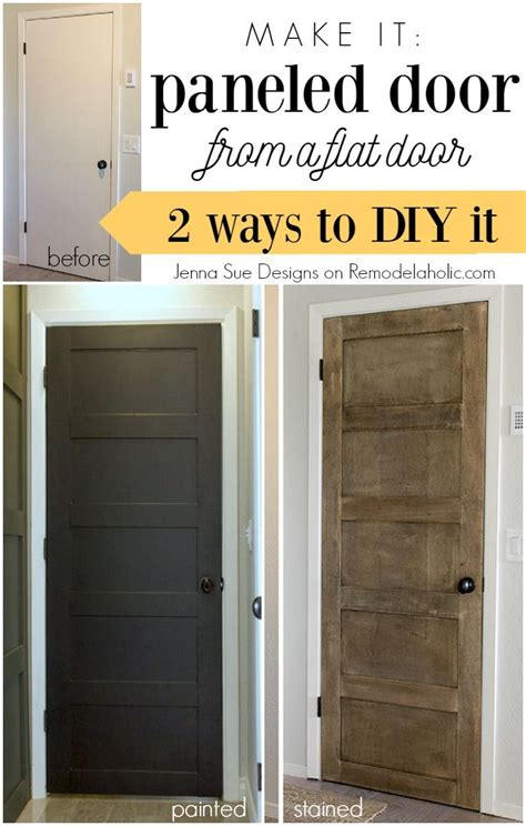 How To Make A Temporary With Regular Paper - 25 best ideas about hollow doors on door