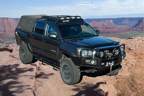 Roof Rack Toyota Tacoma Cab by Gobi Toyota Tacoma 4 Door Cab Roof Rack