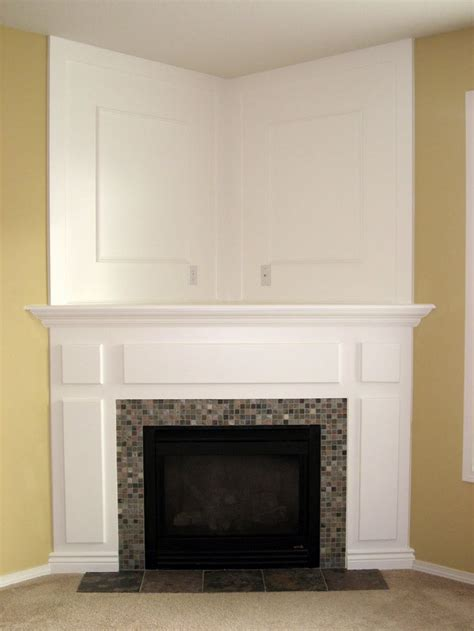 Corner Fireplace With Mantel by If Our Home Doesn T A Fireplace We Can Always Buy A