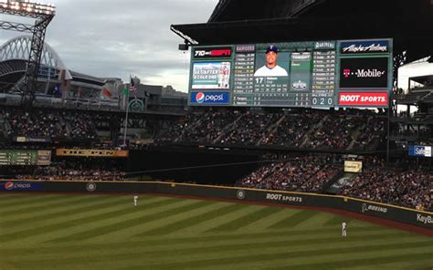 best seats at safeco field seattle mariners musings best budget seats at safeco field