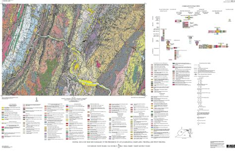 maryland bedrock map digital geologic map and database of the frederick 30 x 60