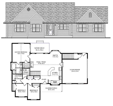 open concept floor plans bungalow diversified drafting design darren papineau home plans