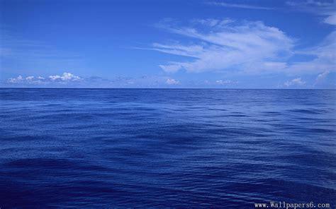 wallpaper blue ocean blue ocean and blue sky landscape wallpapers free