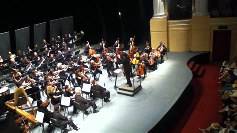 yury de la orquesta melodia showw danza bacanal de quot sans 243 n y dalila quot orquesta sinf 243 nica de