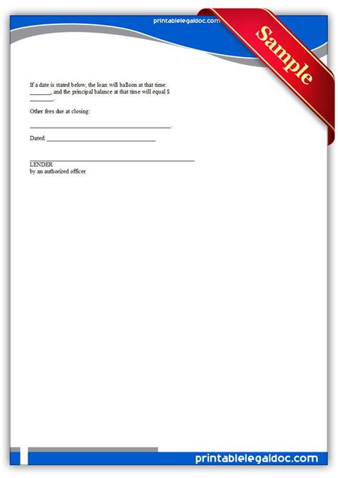 Commitment Letter To Closing Free Printable Mortgage Commitment Letter Form Generic