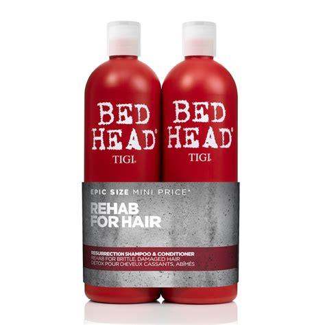 bed head pink bottle tigi bed head urban antidotes resurrection shoo