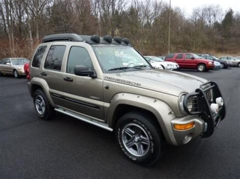 2004 Jeep Liberty Specs 2004 Jeep Liberty Renegade 4x4 Data Info And Specs