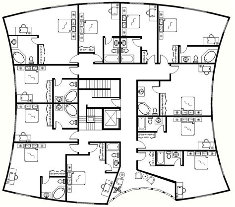 hotel layouts floor plan hotel design floor plans