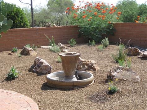 desert landscape ideas for backyards triyae simple desert backyard ideas various design