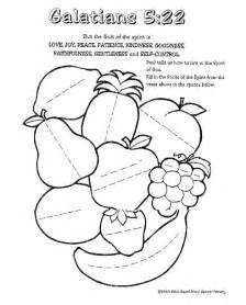 fruit of the spirit coloring pages 12 may 05 fruit of the holy spirit religious ed