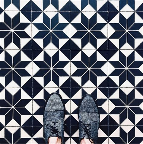 pattern geometric tile a floor journey in black white bold beautiful and sexy