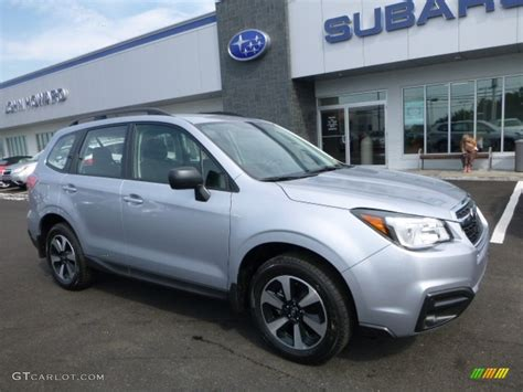 subaru metallic 2017 ice silver metallic subaru forester 2 5i 114595062