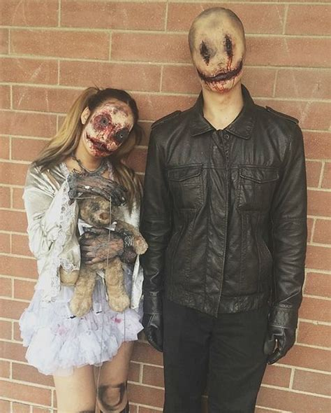super crazy halloween costumes  compact couples