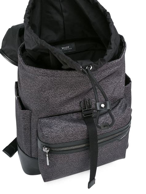 Backpack Without Straps by Bally Single Backpack In Black For Lyst