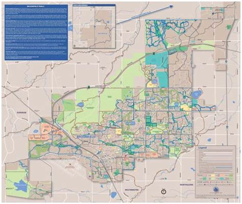 Broomfield County Property Records City And County Of Broomfield Official Website 2011 Broomfield Trails Map