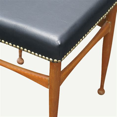 Mid Century Low Stool by Welcome To Metro Retro
