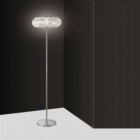 crystal floor l uk diyas uk banda il30088 polished chrome crystal 6 light