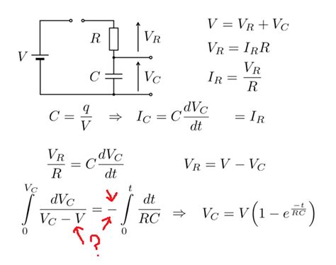 power of a capacitor equation voltage across capacitor equation derivation pls help much appreciated the student room