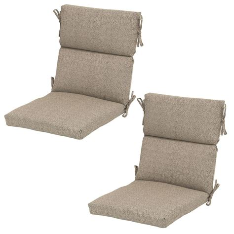 dining chair cushions hton bay dotted sky rapid deluxe outdoor dining